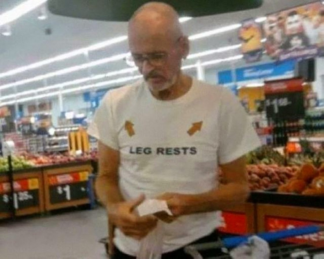 Bilderesultat for old people wearing inappropriate shirts