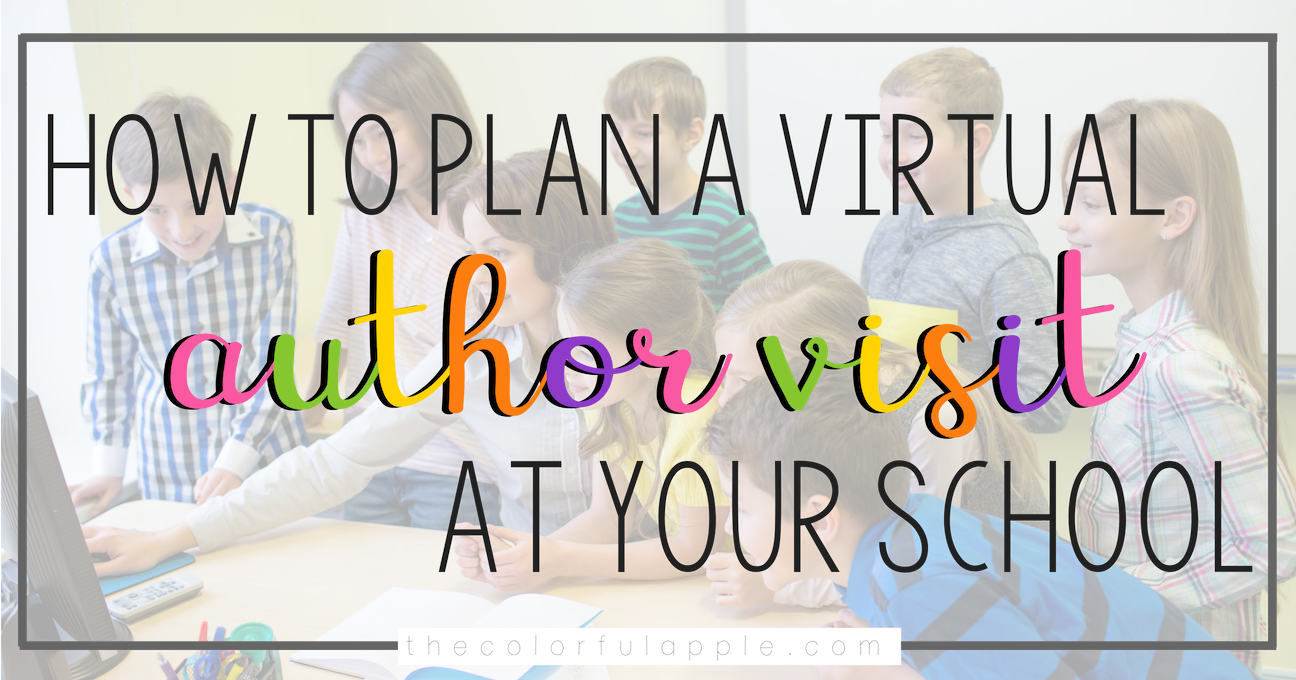 Having an author visit your school can be so inspirational for your students!  Here are some activities and ideas to prepare for a virtual visit from a writer.