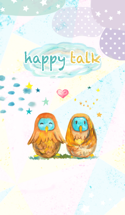 happy talk -Lucky Owl-