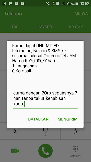 Cara Paket Internet Murah Indosat OOREDOO