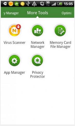 Android Booster Free sebagai aplikasi antivirus android
