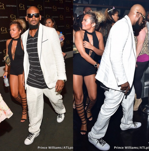R.Kelly, 49, steps out with his 19 year old girlfriend