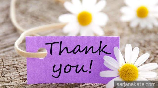 Kata Kata Ucapan Terimakasih