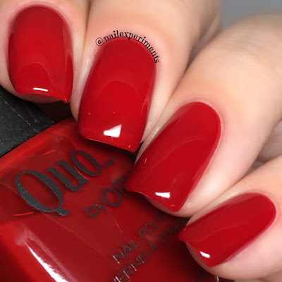quo by orly stiletto on the run limited edition holiday 2017 darlings of defiance swatch