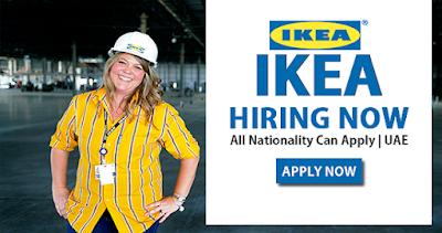 Latest IKEA Job Vacancies In Dubai