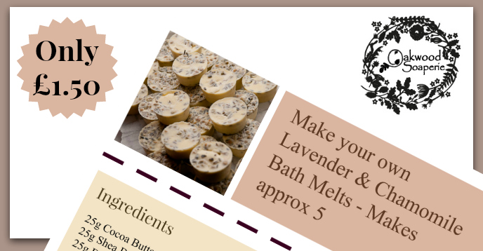 Make your own Bath Melts