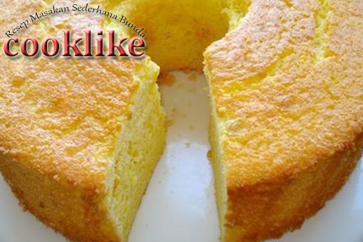 Cara Membuat Kue Bolu Pandan Panggang