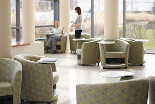 Waiting Room Chairs with Storage at OfficeAnything.com