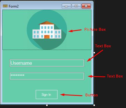 Menambahkan item untuk membuat login menggunakan vb dot net & mysql