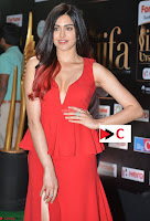 Adah Sharma in Red Deep Neck Spicy Gown ~  Exclusive 51.jpg