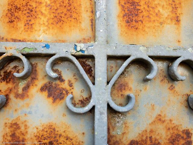 Detalhes de um portão