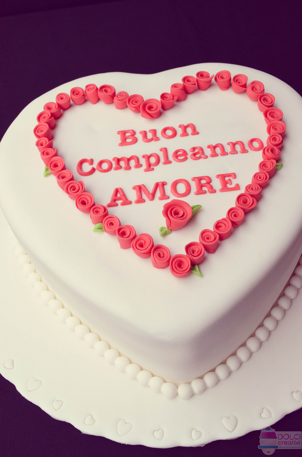 buon compleanno amore mio torta