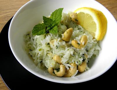 ryż z orzechami nerkowca