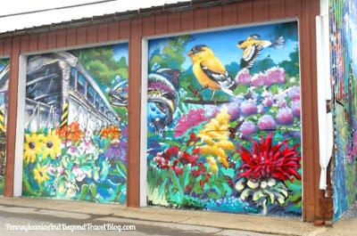 Street Art - Wall Mural in New Wilmington Pennsylvania