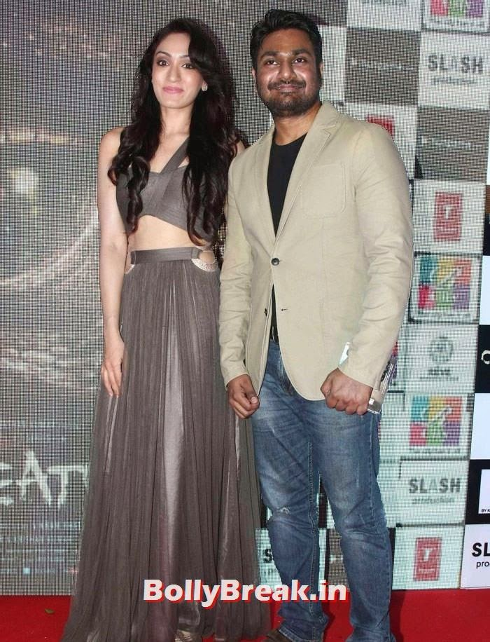 Khushali Kumar, Mithoon, Khushali & Tulsi Kumar Hot Pics from 'Creature 3D' Music Launch