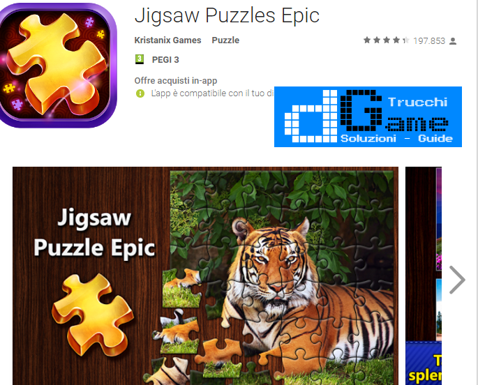 Trucchi Jigsaw Puzzles Epic Mod Apk Android v1.2.9