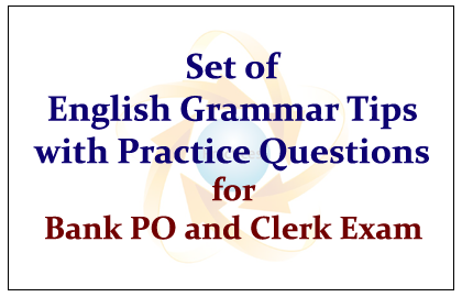 Set of English Grammar Tips to Answer the English Questions