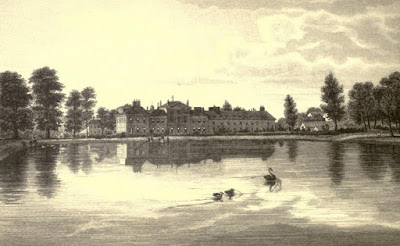 Kensington Palace, Kensington Gardens  from Old and New London by E Walford (1878)