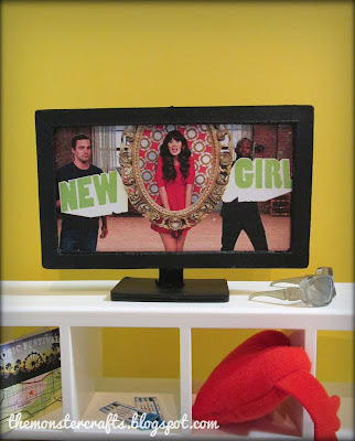 Doll TV New Girl Doll House 1:6 scale