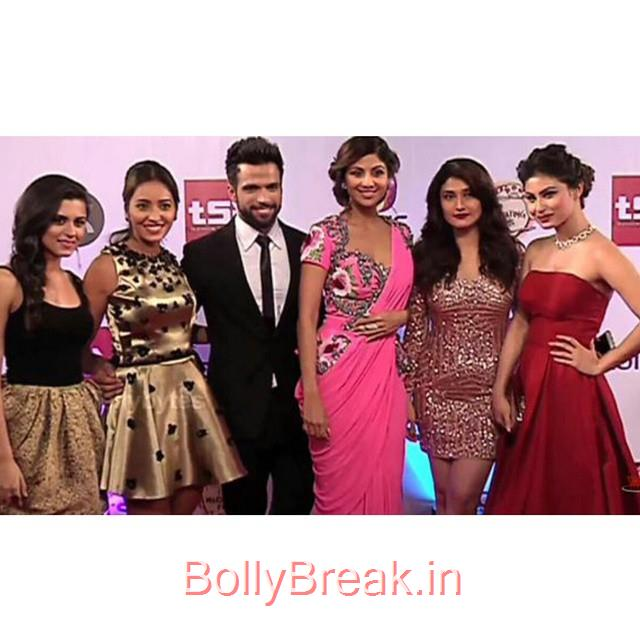 asha negi , rithvik dhanjani , ridhi dogra , shilpa shetty , ragini khanna , mouni roy , television style awards ,, Hot Pics of Shilpa Shetty From Television Style Awards