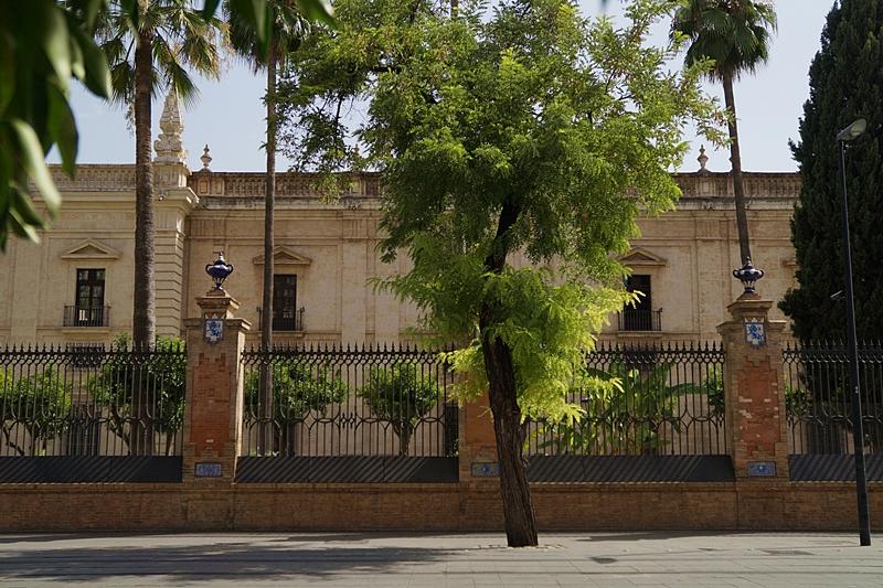 University in Seville, Spain // Universität außen in Sevilla, Spanien   Sevilla im Sommer bereisen