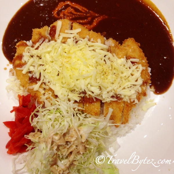 Cheese Chicken Katsu Curry