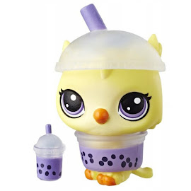 Littlest Pet Shop Series 4 Hungry Pets Owl (#4-144) Pet