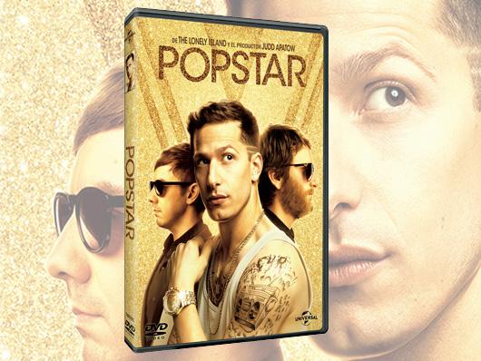 Ya a la venta en DVD la comedia 'Popstar' con Andy Samberg
