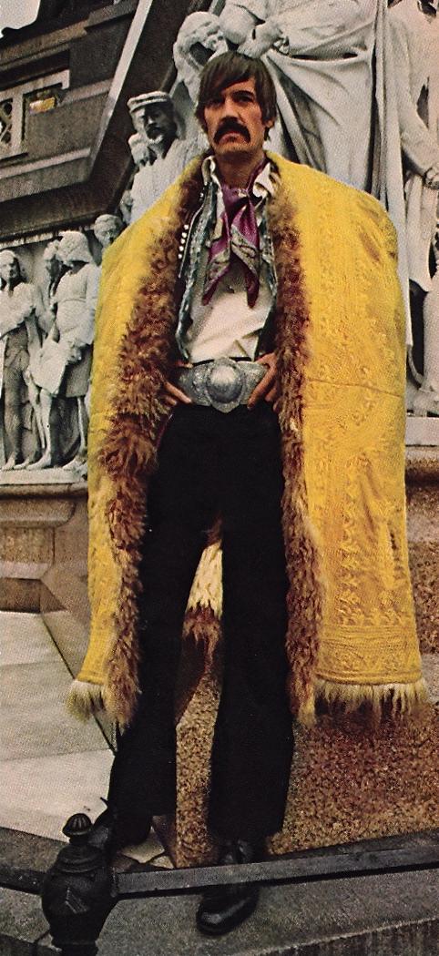Sweet Jane blog, 1960s fashion, 1960s hippie menswear, Michael Butler, Hair the Musical,