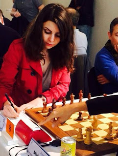 Nino Maisuradze, grand-maître international féminin et double championne de France - Photo © Chess & Strategy