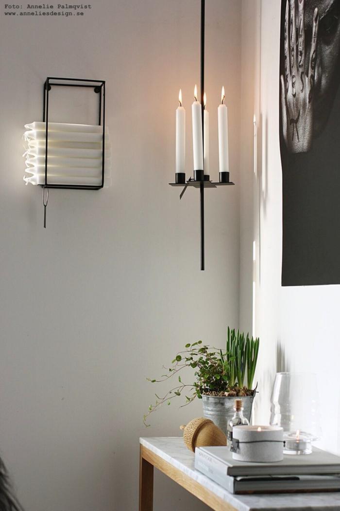 anneliles design, webbtuik,webbutiker, webshop, nätbutik, inredning, ljusförvaring, förvaring, ljus, stearinljus, ljushållare, ljusstake, ljusstakar, svart, svarta, annelie palmqvist design,