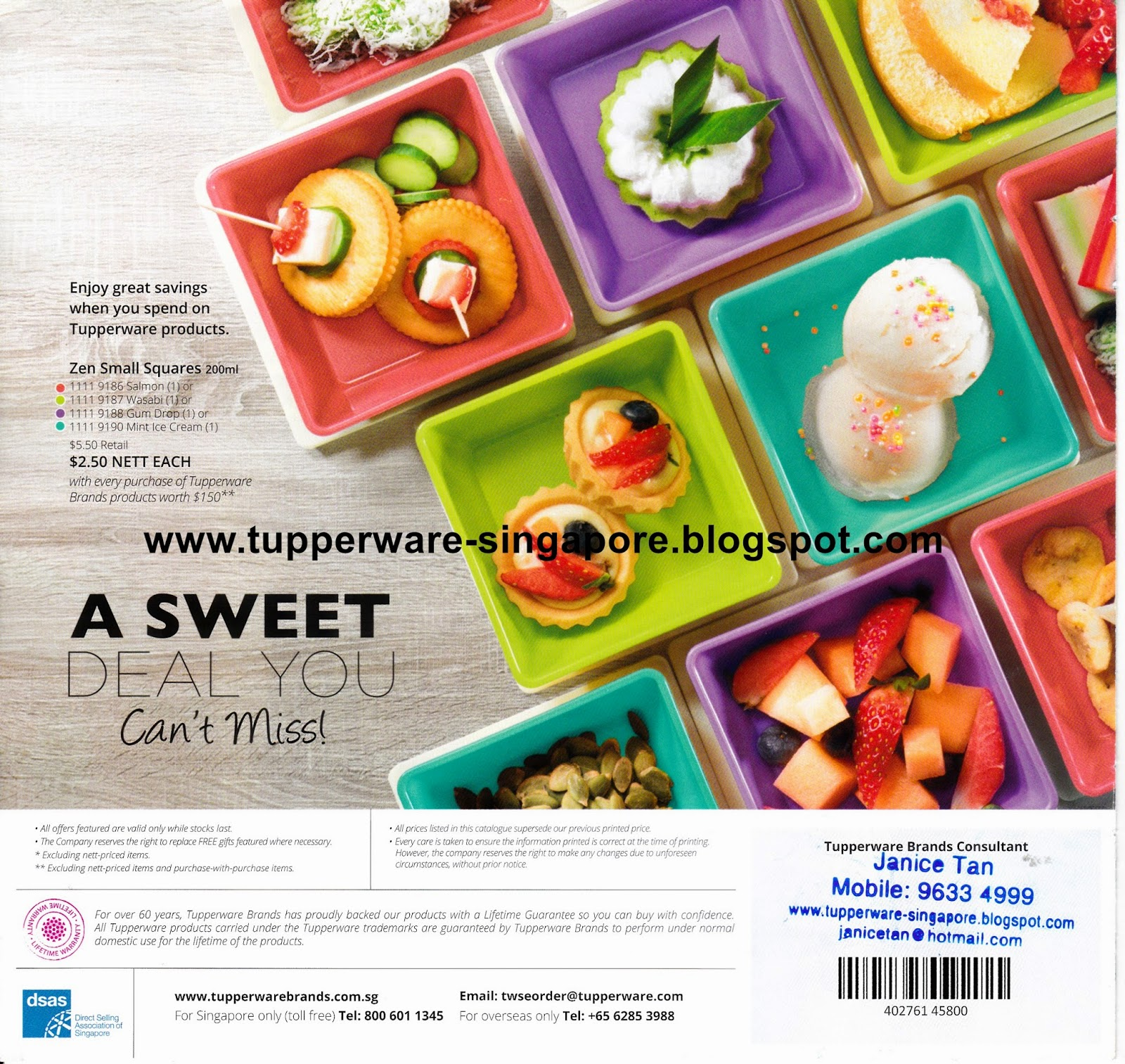 Buy Tupperware in Singapore: May 2015 Catalogue