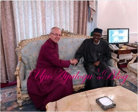 Buhari's recovery, a testimony to healing powers of God —Archbishop of Canterbury