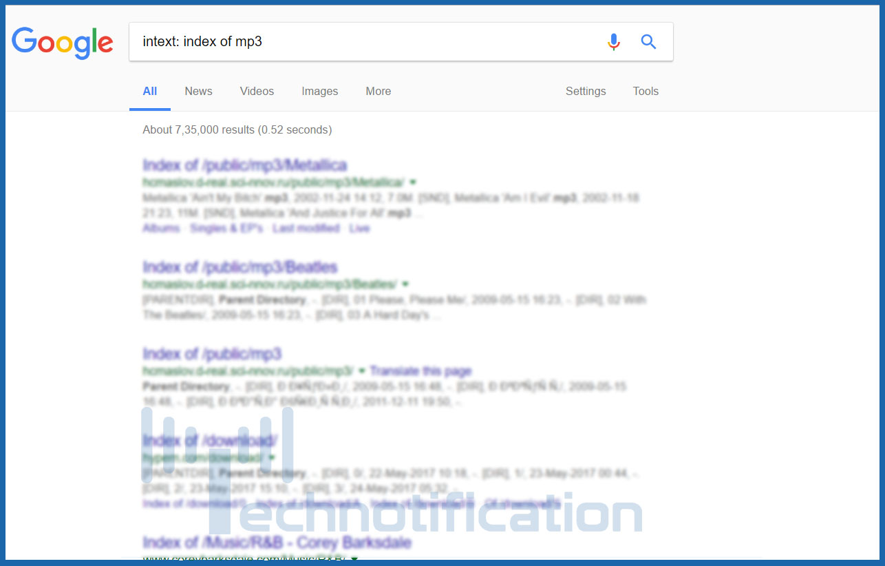 Google Dorks : Use Google For Hacking websites, Databases and
