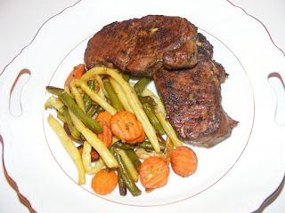 Friptura de porc cu legume sote retete culinare,