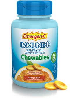 Everything for Ana: Review and Giveaway: #Emergen-C Chewables Immune Plus #Orange Blast # ...