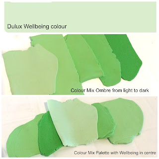 Commission Colour Mixing for Wellspring Green Statement Necklace
