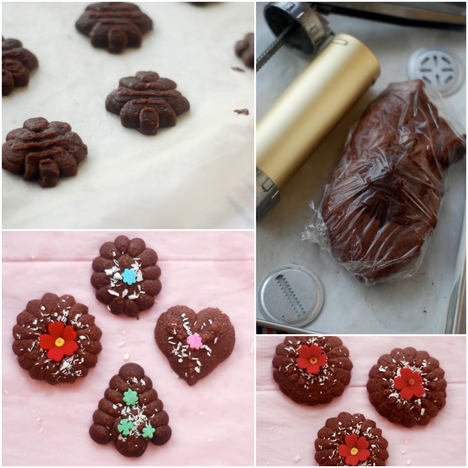 chocolate spritz cookies - photo #36