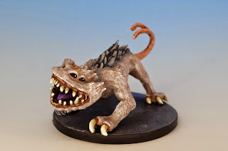 Nexu, Imperial Assault (2014, sculpted by Benjamin Maillet, painted by M. Sullivan)