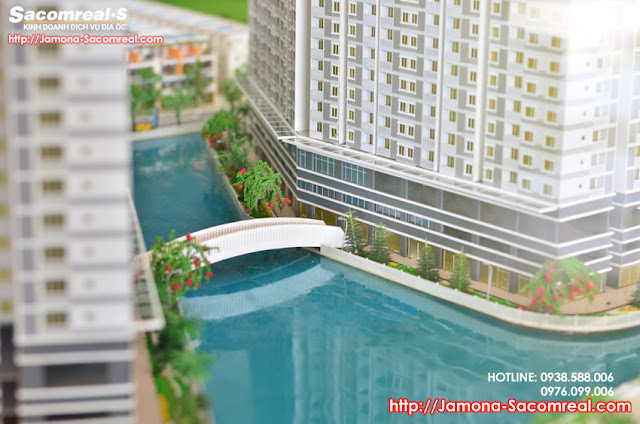 7500sqm scenery lake in the Jamona Apartment project.