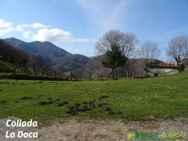 Senda del Chorrón y Foz del Río Valle: Collada La Doca