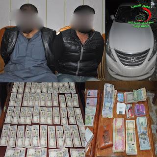 سوق الشيوخ.. الأجهزة الأمنية  تلقي القبض على متهمين بترويج العملة المزيفة