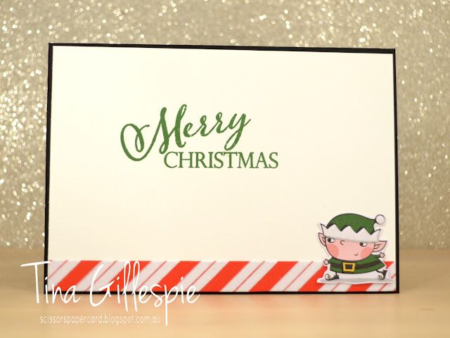 scissorspapercard, Stampin' Up!, Art With Heart, Merry Christmas To All, Santa's Workshop SDSP, Stitched Shapes Framelits