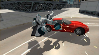 Flying Car Robot Simulator Apk Mega Mod
