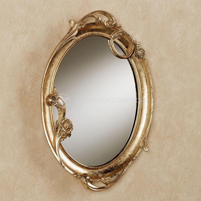 Pigura Cermin Oval Klasik | Harga Pigura Jepara