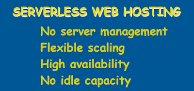 serverless web hosting and computing