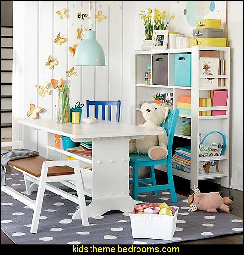 Kids Furniture  Kids Workspace   kids desks fun playroom furniture