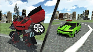 Games Car Robot Simulator Apk