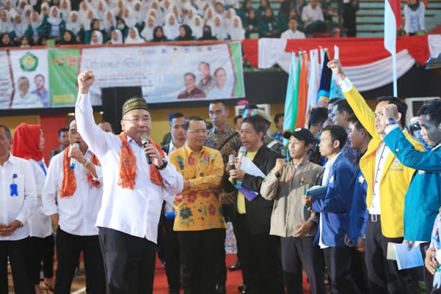 Aduh, Menteri Desa Berkampanye untuk Jokowi