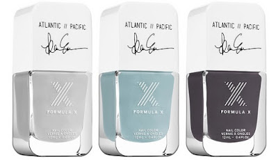 Formula X #ColorCurators: Atlantic-Pacific Edition - Nail Color Collection - with swatches!